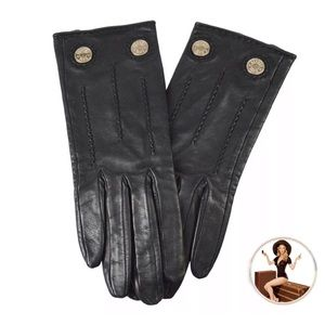 Hermes Leather Gloves: Sz XS  Authentic!